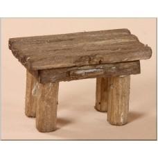 Tavolo in legno 6x3,5x3,5 cm