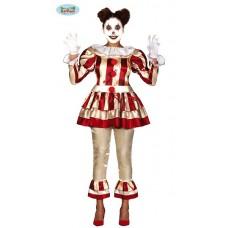 Costume CLOWN IT a righe - Tg L 42/44