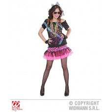 Costume 80's ROCK Girl - Tg M 44/46
