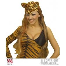 Copricapo Tigre c/parrucca