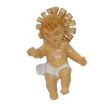 Bambino con aureola 4 cm