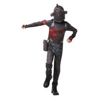 Costume FORTNITE BLACK KNIGHT - Tg 9/10 anni