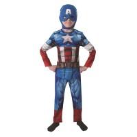 Costume CAPITAN AMERICA - Tg L 7/8 anni