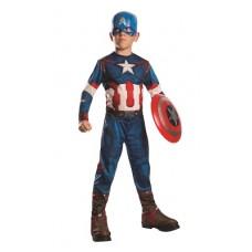 Costume CAPITAN AMERICA Classic AV2 - Tg M 5/7 anni