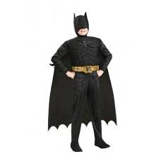 Costume BATMAN c/muscoli Deluxe - Tg M 5/7 anni