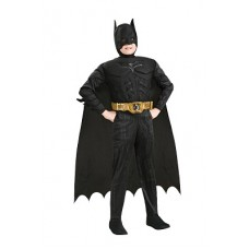 Costume BATMAN c/muscoli Deluxe - Tg S 3/4 anni