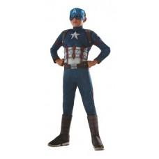 Costume CAPITAN AMERICA c/muscoli - Tg M 5/7 anni