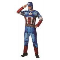 Costume CAPITAN AMERICA - Tg Standard 50/52
