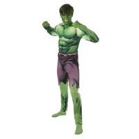 Costume HULK DELUXE c/muscoli - Tg Standard 50/52