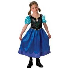 Costume ANNA  Frozen Classic - Tg L 7/8 anni 128 cm