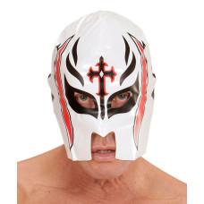 Maschera Lottatore Bianca