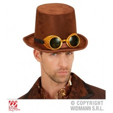 Cilindro Steampunk c/occhiali