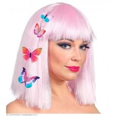 Cf. 4 Mollette Farfalla per capelli - 4 mod ass