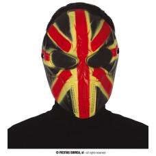 Maschera Bandiera Inglese in plastica rigida