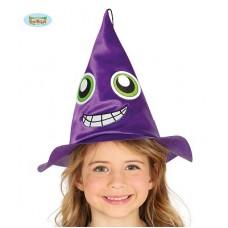 Cappello Strega Viola Bambina