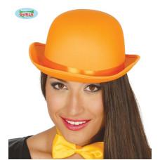 Bombetta Arancione in raso