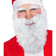 Barba Babbo Natale Bianca Riccia