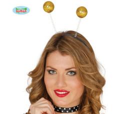 Cerchietto Antenne Oro