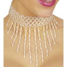 Collana Bianca con perline