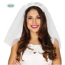 Cerchietto Velo Sposa