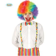 Bretella Clown con pois