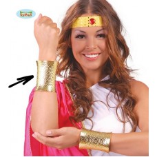 Bracciali Egiziana in metallo (paia)
