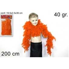 Boa Arancione (40 gr.- 2 mt)
