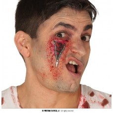 Cicatrice Cerniera con adesivo