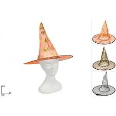 Cappello Strega c/stampa - 3 col ass