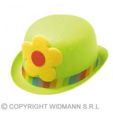 Bombetta Clown con fiore