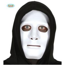 Maschera Anonimo Bianca in plastica