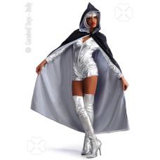 Mantello Bianco/Nero Doppia Faccia