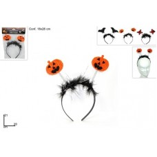 Cerchietto Halloween - 3 mod ass