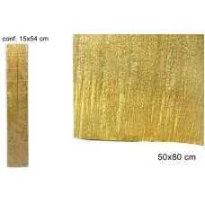 Carta Crespa Oro 50x80 cm