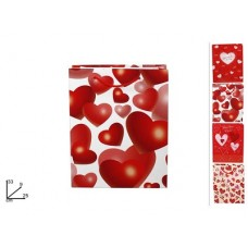 Busta Regalo San Valentino 33x25x9 cm - 4 mod ass