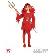 Costume DIAVOLESSA - Tg S 5/7 anni 128 cm