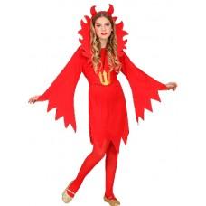 Costume DIAVOLESSA - Tg M 8/10 anni 140 cm
