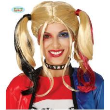 Parrucca Harley Quinn
