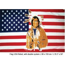 Bandiera 90x150 AMERICA c/Indiano