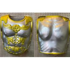 Armatura Romana con leone oro