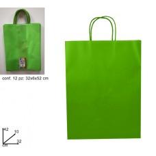 Busta Carta Regalo Verde (42x10x32)