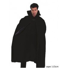 Mantello Nero in plastica 115 cm