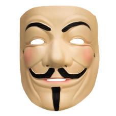 Maschera V for Vendetta in gomma