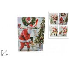 Busta Regalo Babbo Natale 44x61 cm
