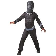 Costume BLACK PANTHER - Tg L 7/8 anni