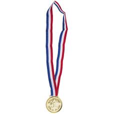 Medaglia Oro con collana