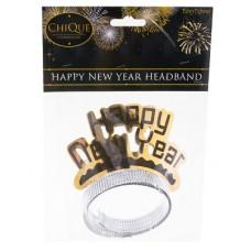 Cf. 2 Cerchietti  Happy New Year oro