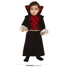 Costume VAMPIRESSA - Tg 12/24 mesi