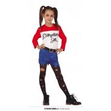 Costume HARLEY QUINN - Tg 5/6 anni