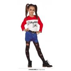 Costume HARLEY QUINN - Tg 7/9 anni